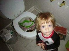 """""""20 Hilarious Photos Of Kids That Were Left Alone A Little Too Long"""""""