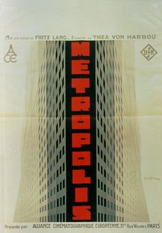 "Movie Poster of the Week: ""Metropolis"" and the posters of Boris Bilinsky on Notebook   MUBI"