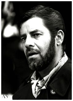 Jerry Lewis; a rare look with a beard