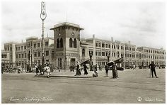 Cairo Railway Station In 1910's [Lehnert & Landrock]