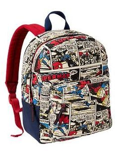 Junk Food™ Superman backpack LOVEEEEE!!!!!! :) so my taste for my baby