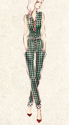Gingham Style on Behance