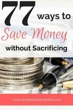 Easy ways to save mo Easy ways to save money around the house. Tips are shared to begin frugal living in your household. Living On A Budget, Family Budget, Frugal Living Tips, Frugal Tips, Frugal Blogs, Mom Blogs, Simple Living, Money Saving Challenge, Money Saving Tips