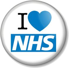 I Love / Heart NHS - Pin Button Badge. per badge! NOT suitable for small children due to the sharpness of the pin and their small size. Our button badges are. Button Badge, Pin Button, I Love Heart, My Love, National Health Service, Welfare State, Badge Design, Health Advice, Positivity