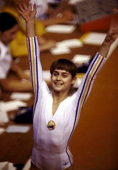 Before 1976, no male or female had ever received a perfect score in any Olympic gymnastics event. And then came Nadia Comaneci, all 4-foot-11, 86 pounds of her.