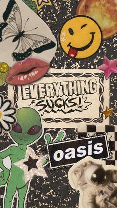 everything sucks! Hippie Wallpaper, Retro Wallpaper, Tumblr Wallpaper, Aesthetic Iphone Wallpaper, Cartoon Wallpaper, Wallpaper Backgrounds, Aesthetic Wallpapers, Aesthetic Art, Cute Wallpapers