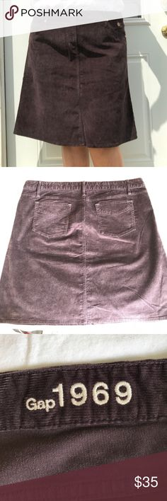 Like New Gap Brown Corduroy Skirt Size 20 Like New Gap Brown Corduroy Skirt Size 20 - Beautiful!  Please don't be shy! Feel free to make an offer. I might counter, and I just might accept 😉 God Bless❣️ Happy Poshing❣️ GAP Skirts
