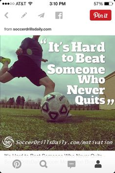 "Soccer Quote Endearing Soccer Quote""life Is Like Soccer You Need Goals"