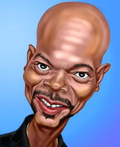 Samuel L. Jackson by adavis57 on DeviantArt