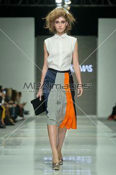 Fashion Week Poland 2012 S/S - Joanna Klimas fashion show | © Mariusz Pałczyński / MPAimages.com