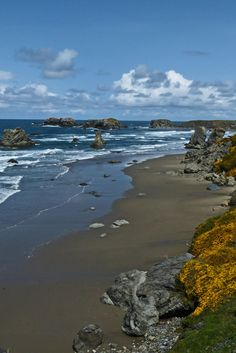 Bandon, Oregon - spent may hours on this beach with family.