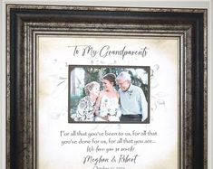 Personalized Designer Photo Frame Mats All by PhotoFrameOriginals Thank You Gift For Parents, Wedding Thank You Gifts, Wedding Gifts For Parents, Mother Of The Groom Gifts, Anniversary Gifts For Parents, Gifts For Mom, Photo Frame Design, Personalized Picture Frames, Wedding Trends