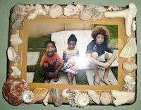 Summer shell crafts
