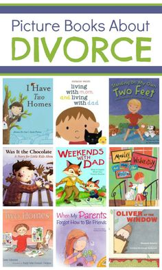 Picture Books About Divorce...Because all kids are different and every family situation is different, I strongly encourage you to independently read any book that you select by yourself before presenting it to your children. Not only can you make sure it aligns with what you are telling your children about the separation, but it also helps you to anticipate questions that the book might make kids think of....