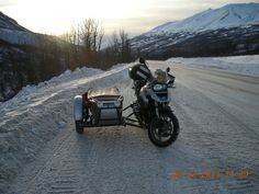 My rig Winter riding