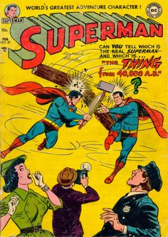 Superman 087. The Thing From 40000 A.D.! (February, 1954)
