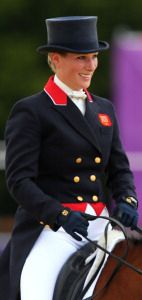Zara Phillips , London Olympics , 2012
