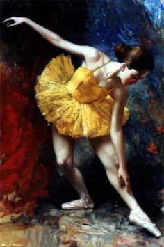 Ballerina in Yellow, Bruno Di-Maio