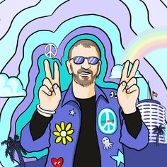 the beatles ringo starr capitol records peace and love trending #GIF on #Giphy via #IFTTT http://gph.is/29lx5k2