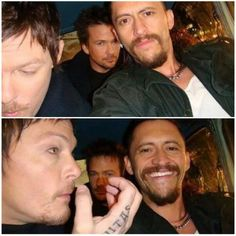 Norman Reedus, Sean Patrick Flanery, Clifton Collins Jr