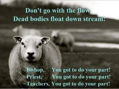 Don't go with the flow, Dead bodies float down stream! Play Video
