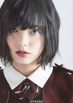 Do you think Hirate Yurina will be considered a top visual in South Korea? Ideal Beauty, Beauty Women, Asian Beauty, Hear Style, Japanese Uniform, Female Reference, Asian Hair, Cute Asian Girls, Kawaii Girl