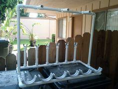 Paintball gun stand