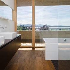 Moderne badkamers van Q-rt Architektur