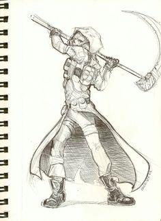 Let's Get Sketchy Gotham Villains, Gotham Batman, Batman Art, Scarecrow Drawing, Scarecrow Batman, Comic Character, Character Design, Comic Costume, Batman Drawing