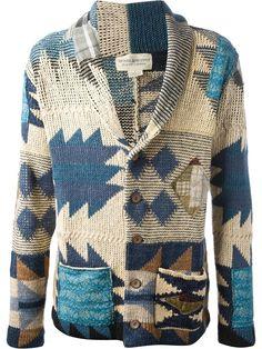 All - Ralph Lauren Denim & Supply Aztec Cardigan - Tessabit.com – Luxury Fashion For Men and Women: Shipping Worldwide