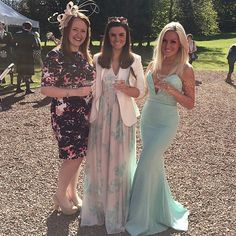 What a beautiful #look <3! Glamorous @melissalouise84 rocked our #JarloLondon #HighSummer15 #Helena maxi #dress in mint at the #wedding she attended today ~ she simply killed it! Thanks for sharing!