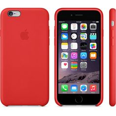 iPhone 6 Leather Case - (PRODUCT)RED - Apple Store (U.S.)