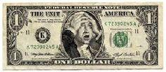 2008 Bank Crisis - funny fake bank note