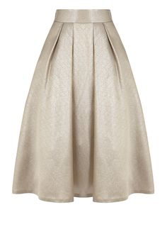 With its soft A-line silhouette and luxe texture, the Penny Skirt is a stunning piece which will see you through the seasons in style. Nipping you in at the waist, the wide waistband makes for an enviable fit whilst structured box pleats exaggerate the fit and flare shape. This pocketed skirt fastens with a concealed back zip. Skirt length from waist to hem is 35 inches/89cm.