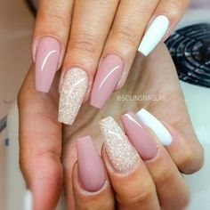 Cute funny fancy nails for people with long nails and fierce look✨