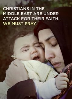 Christians in the Middle East are facing genocide for their faith. We cannot be silent.