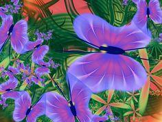If Henri Rousseau Painted Butterflies by GrannyOgg.deviantart.com on @DeviantArt