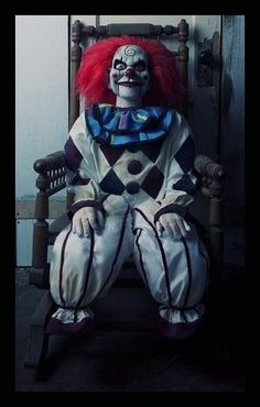 DEAD SILENCE CLOWN MOVIE PROP HORROR PUPPET HAUNTED DOLL THE CONJURING HALLOWEEN