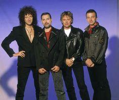 Roger Taylor, Brian May, Freddie Mercury, John Deacon, and Queen in Queen: Scandal John Deacon, Queen Freddie Mercury, Queen Band, Brian May, I Am A Queen, Save The Queen, Queen Queen, Queen Videos, Roger Taylor
