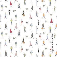Tapete: Hipster's Paradise - Die TapetenAgentur