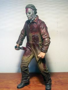 Michael Myers Toys   Michael Myers Halloween II action figure by Mezco