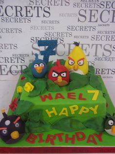 angry angry birds - maybe for Brayden's bday coming up in October Angry Birds Birthday Cake, Bird Birthday Parties, Angry Birds Cake, Birthday Bash, Party Time, Party Fun, Party Ideas, Angry Angry, Flappy Bird