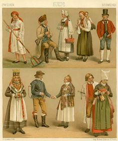 Traditional Dress: 19th Century Scandinavia - History of Fashion Design