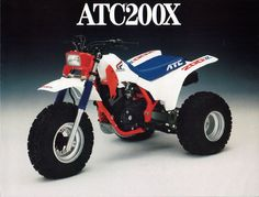 ATC 200x Had a poster on my wall called count your blessings detailing the 200x. I had the ATC110 but dreamed of having this or the 250R.