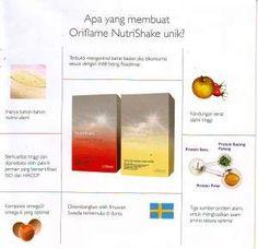 kandungan nutrishake Nutrishake Oriflame, Nutrition Drinks, Wellness