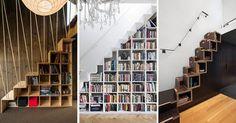 """Résultat de recherche d'images pour """"escalier bibliothèque"""""""
