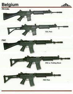 FN CAL and FNC Military Weapons, Weapons Guns, Airsoft Guns, Guns And Ammo, Battle Rifle, Future Weapons, Custom Guns, Fire Powers, Assault Rifle