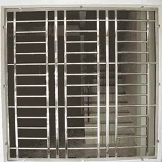 Window Grill Design Modern, Window Design, Modern Design, Steel Grill Design, House Architecture Styles, Window Bars, Window Security, Indian House, Kerala Houses