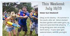 Water Gun Battle - Blue Ridge July 18