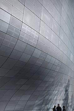 Zaha Hadid, Zaha Hadid Architects, Dongdeamun Design Plaza, Seoul, Korea, plaza, cultural facility, public facility, culture, technology, innovation